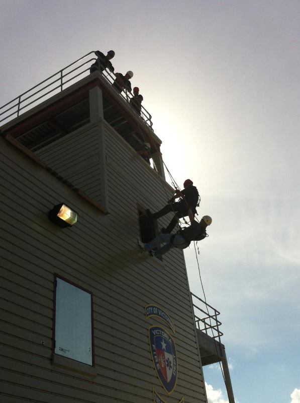 Technical Rescue Training at the Drill Tower