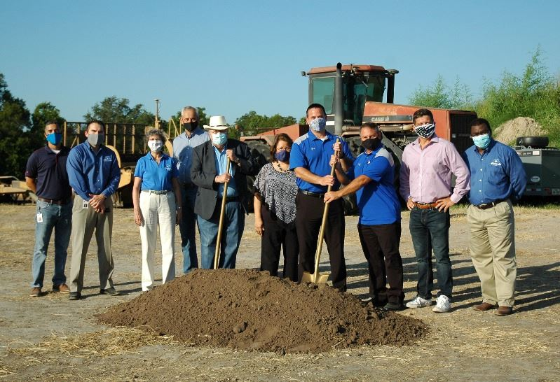 City and community leaders gather for ceremonial groundbreaking