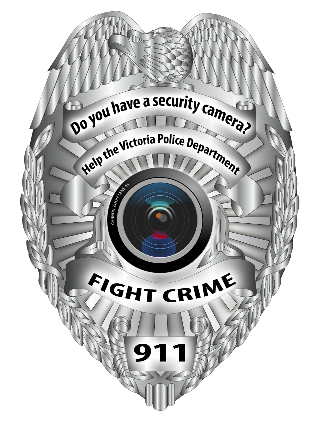 Do you have a security camera - Help the Victoria Police Deparment Fight Crime 911